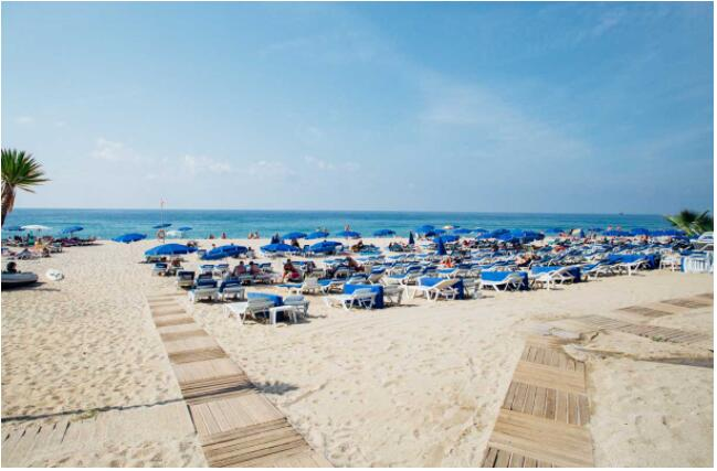 Alanya is a popular beach destination