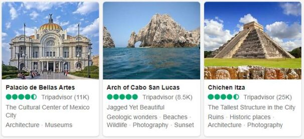 Mexico Attractions
