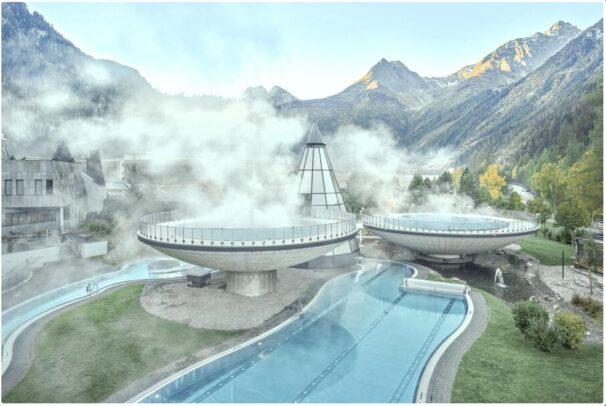 Aqua Dome - the futuristic thermal baths in Tyrol